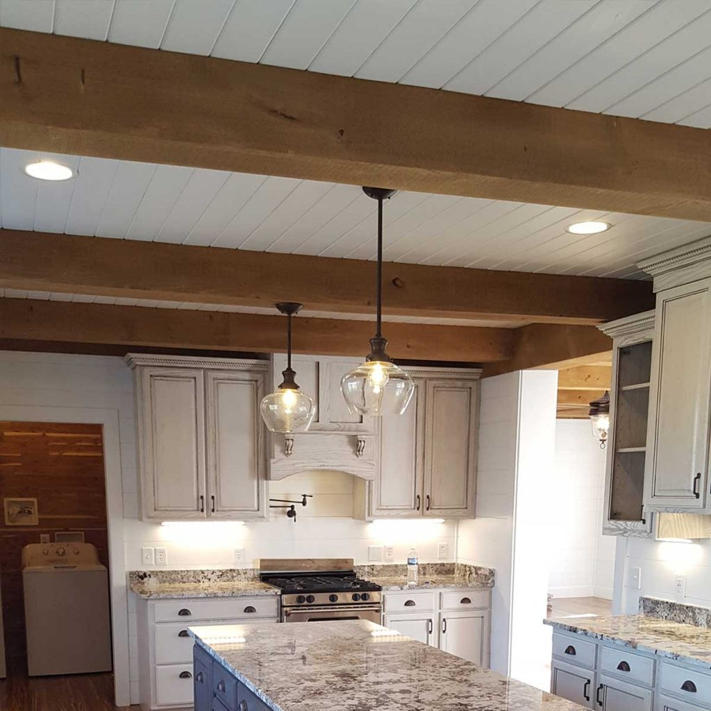 solid wood beams